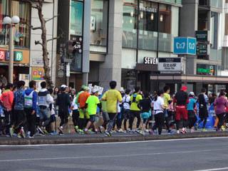 迷惑な東京マラソン