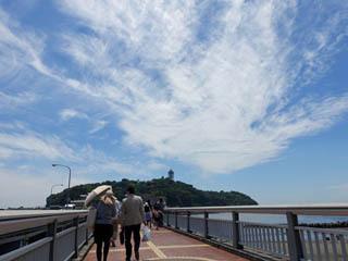 あれが江ノ島だよ