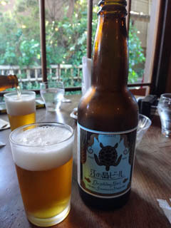江ノ島ビールも美味しかった